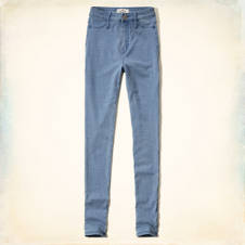 Hollister Blake Natural Waist Jeggings