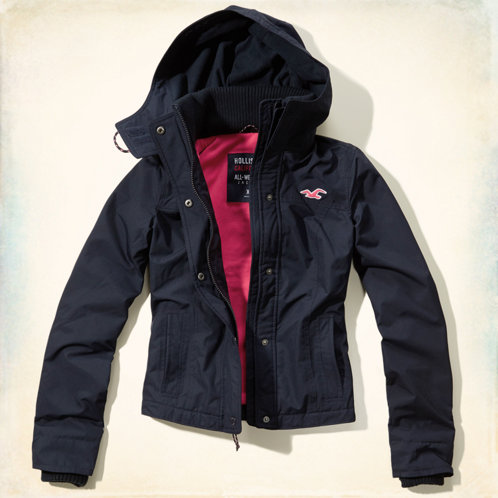 Girls The Hollister All-Weather Jacket | Girls Clearance ...