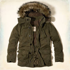Point Mugu Sherpa-Lined Parka