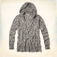 Show's Cove Extra Long Hooded Sweater