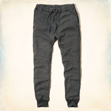 The Hollister Cuffed Fleece Jogger Pants