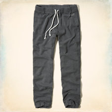 The Hollister Cinched Fleece Jogger Pants