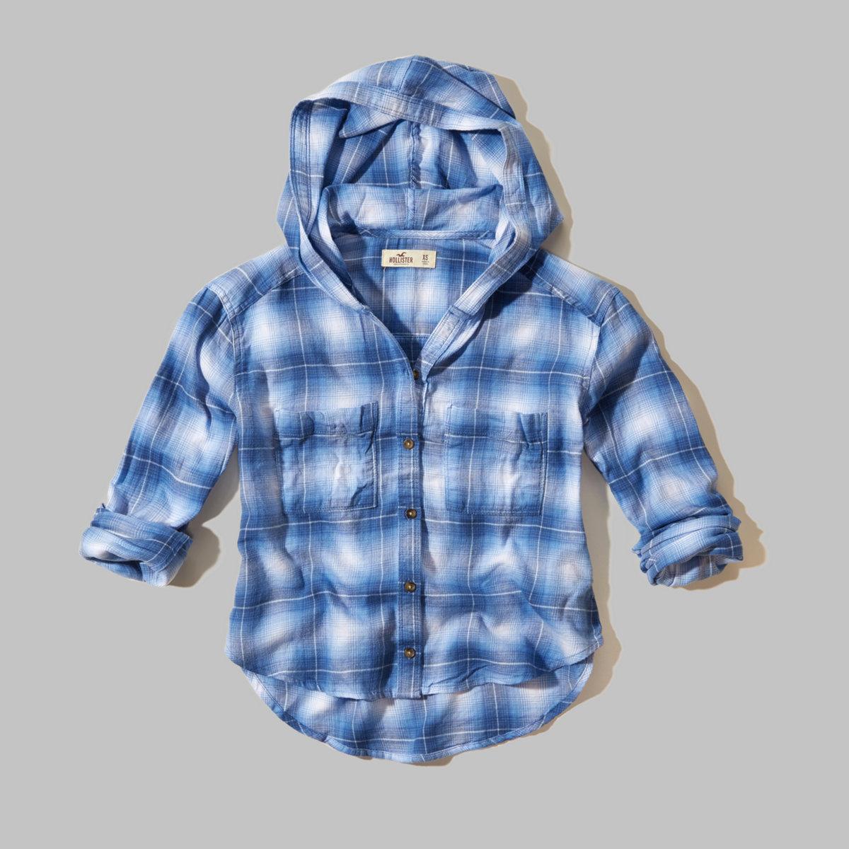 Santa Monica Hooded Shirt