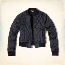 Tourmaline Bomber Jacket