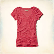 Monarch Beach Slim V Neck T-Shirt