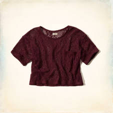 Tide Beach Lace T-Shirt