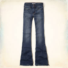 Hollister High Rise Bell Bottom Jeans