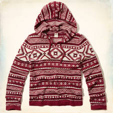 Surfriders Beach Hooded Sweater
