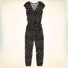Northside Printed Jumpsuit