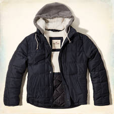 Coronado Island Removable Hood Puffer Jacket