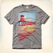 Victoria Beach Classic Fit T-Shirt
