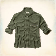 Grandview Embellished Lightweight Shirt