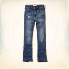 Hollister Cropped Boot Jeans