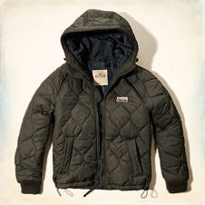 Ocean Beach Quilted Puffer Jacket