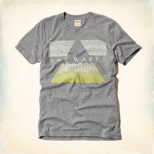 Rad Waves Graphic T-Shirt