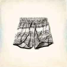Venice Beach Printed Short-Shorts