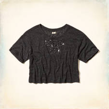 Northside Shine Crop Top