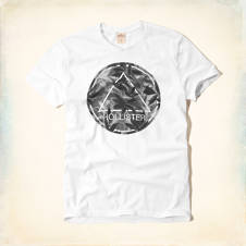 Artistic Logo Graphic T-Shirt