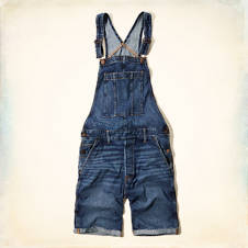 Hollister Overall Shorts