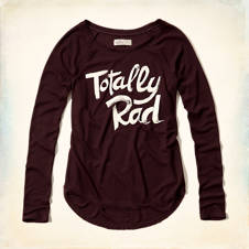 Totally Rad Graphic T-Shirt