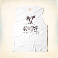 Surf Graphic Cutoff T-Shirt