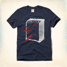 Studio Speaker Graphic T-Shirt