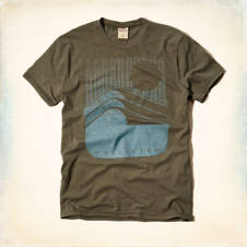 Vintage Wave Graphic T-Shirt
