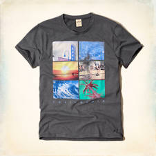 Photo Real So Cal Graphic T-Shirt