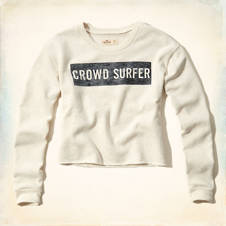 Crowdsurfer Graphic Sweatshirt