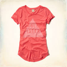 Hollister Logo Graphic T-Shirt