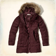 Pebbly Beach Puffer Parka