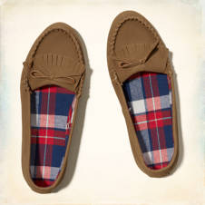 Flannel Lined Mocassins