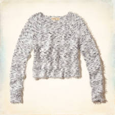 Crescent Bay Fuzzy Sweater