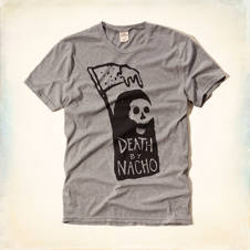 Death By Nacho Graphic T-Shirt