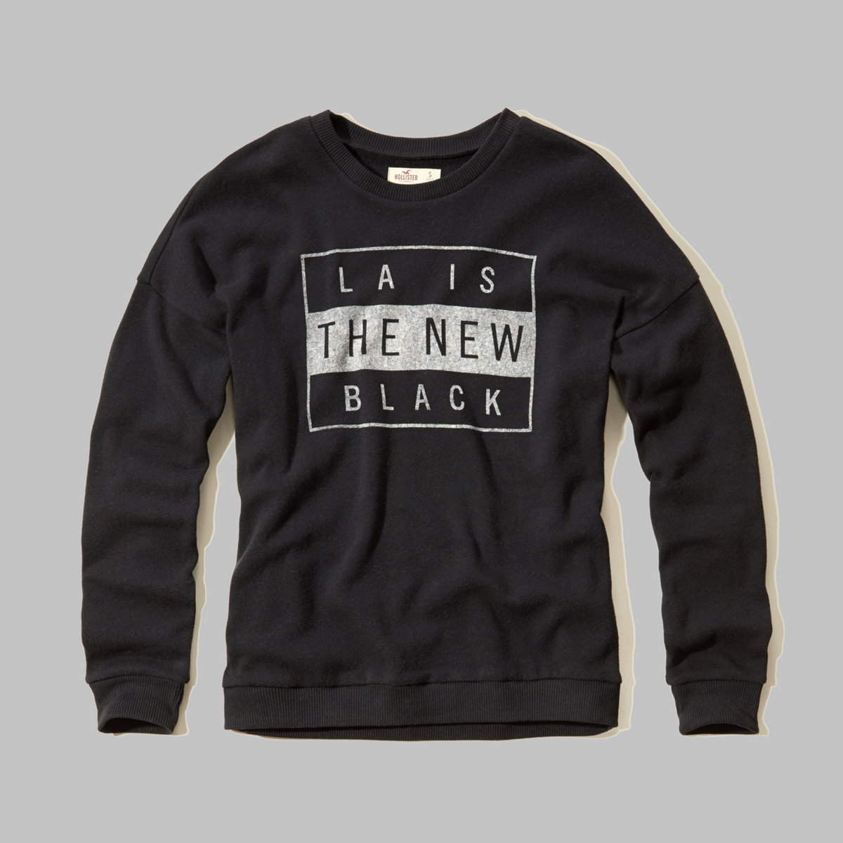 LA Is The New Black Graphic Sweatshirt