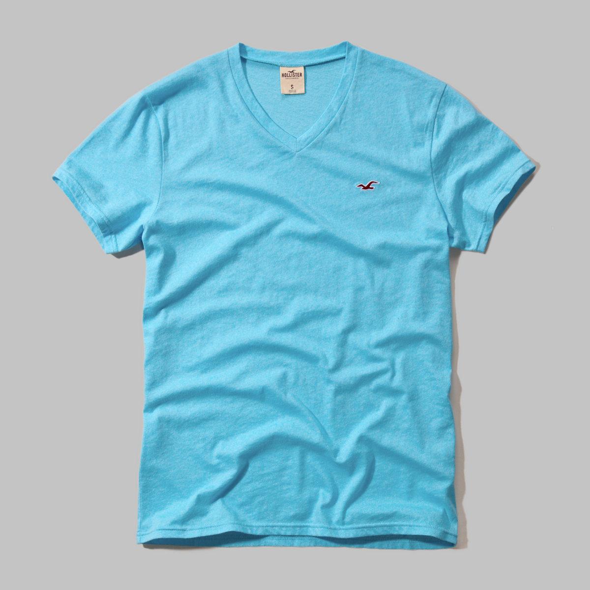Seascape V Neck T-Shirt