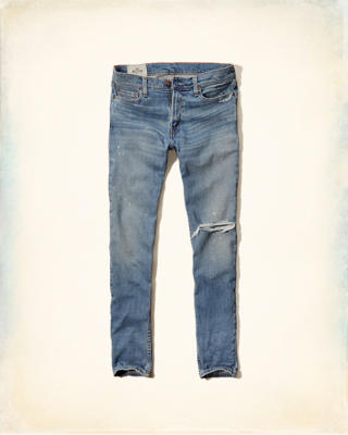 Hollister Super Skinny Zipper Fly Jeans