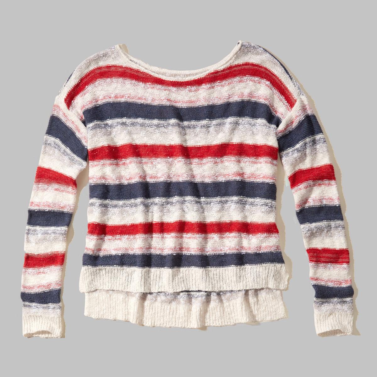 Striped Americana Sweater