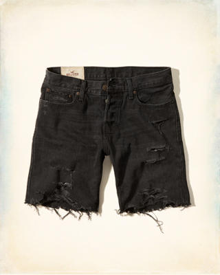 Hollister Prep Fit Denim Shorts