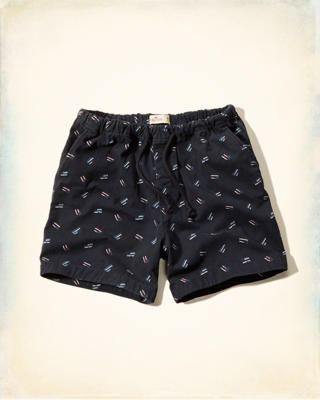Hollister Americana Chill Fit Shorts