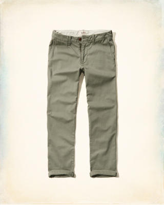 Hollister Classic Zipper Fly Chinos