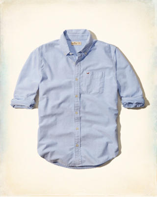Solid Oxford Classic Fit Shirt