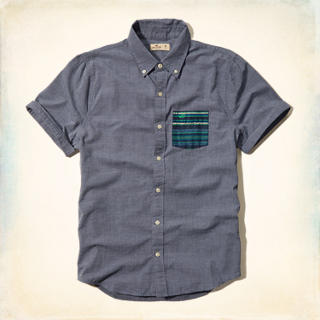 Short Sleeve Pattern Pocket Shirt