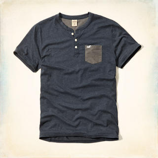 Contrast Pocket Henley