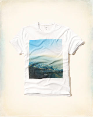 Hollister Photoreal Graphic Tee