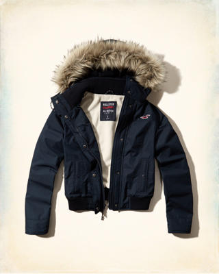 Hollister All-Weather Bomber Jacket