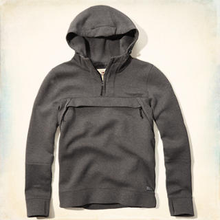 Neoprene Chest Pocket Hoodie
