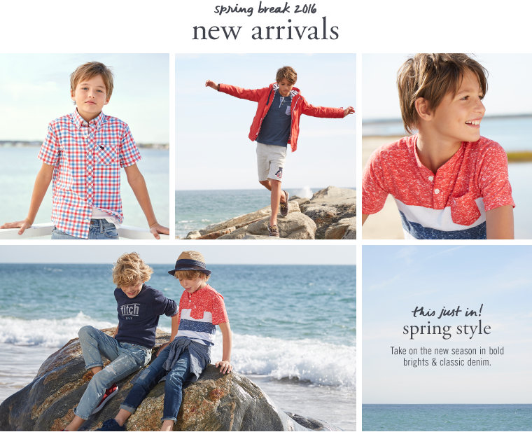 boys New Arrivals