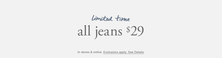 all jeans $29