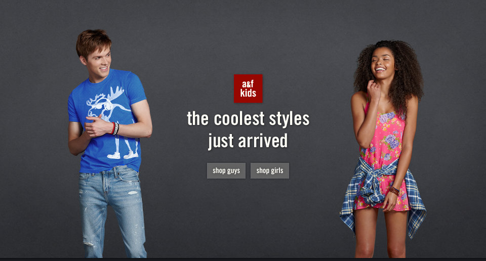Shop a&f's Coolest new arrivals in stores and online!